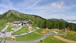 Am Zauchensee eröffnete beim Gamskogel ein Abenteuerspielplatz der besonderen Art.  Foto (c) Zauchensee.com