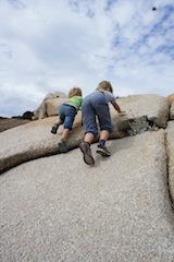 Korsika ist ein Kletterparadies, auch für Kinder! Foto (c) Kinderoutdoor.de