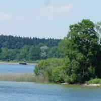 Eine Kanutour auf dem Rätzsee ist die pure Entspannung.   Foto (c) Kinderoutdoor.de
