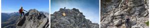 Klettersteig Abenteuer für Familien am Karhorn bei Warth-Schröcken.  Foto (c) Peter Ehler, Tourismusverband Warth-Schröcken