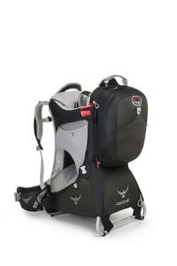 Bei den Kindertragen der Ferrari: Die Poco AG Premium mit abnehmbaren Rucksack.  foto (c) osprey