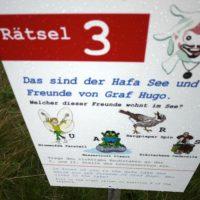 Beim Wandern mit der Kindertrage kommt Ihr in Garfrescha und dort gibt es für Kinder eine spannende Schatzsuche.   foto (c) kinderoutdoor.de