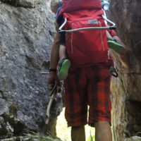 Vaude Shuttle Comfort Kindertrage im Test.  foto (c) kinderoutdoor.de