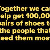 Keen Outdoor Schuhe spendet 100.000 Schuhe foto (c) keen footwear